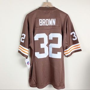 NFL Jim Brown 1963 Legacy Jersey Cleveland Browns